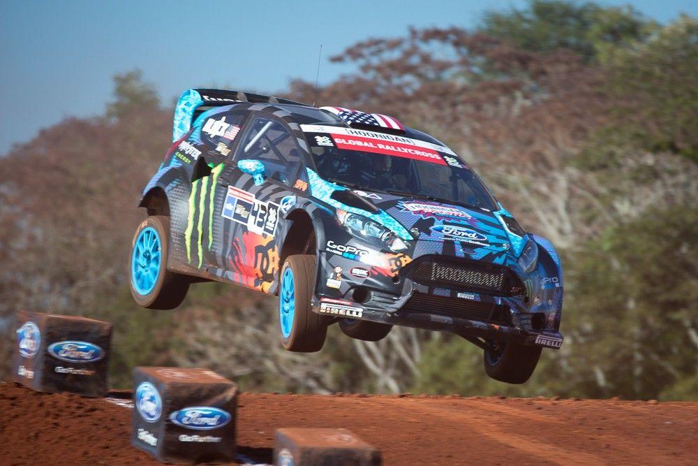 World Rallycross Ken Block Trois Fois Mais Pas 224 Mettet