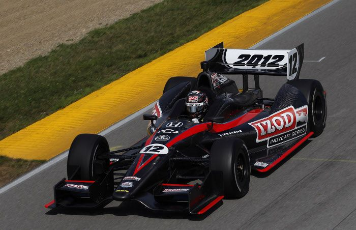 indycar dan wheldon a test la dallara 2012 indianapolis. Black Bedroom Furniture Sets. Home Design Ideas