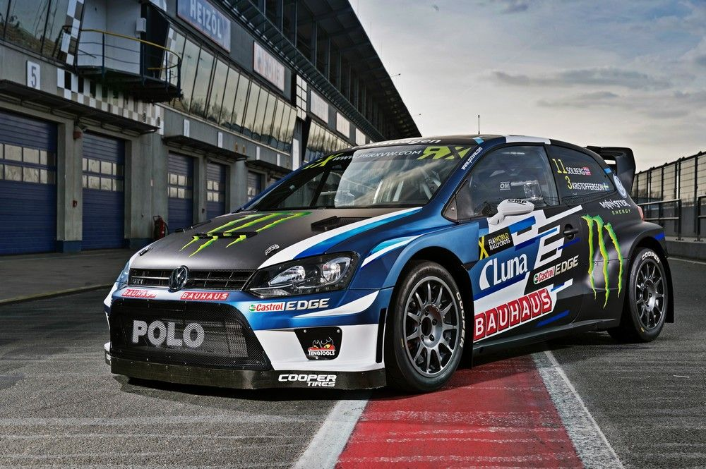 world rx la vw polo gti supercar de petter solberg est avanc e. Black Bedroom Furniture Sets. Home Design Ideas