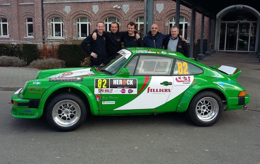 Spa rally 39 vande 39 en porsche 911 sg racing pour la gagne for Action salon singapore